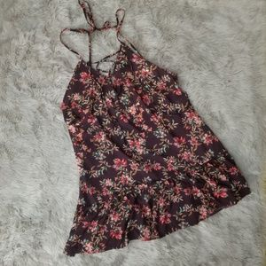 NWT! Sunsets Swim Riviera Coverup Rosewood Vines